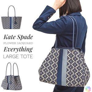Kate Spade Jacquard Stripe Everything Large Tote